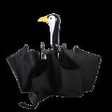 Opvouwbare paraplu pinguïn Esschert Design - zwart wit