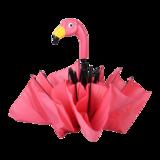 Opvouwbare paraplu flamingo van Esschert Design - roze