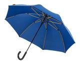 Falcone luxe windproof golfparaplu blauw met haak gp-67-8059 zijkant binnenkant