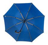 Falcone luxe windproof golfparaplu blauw met haak gp-67-8059 binnenkant paraplu frame baleinen