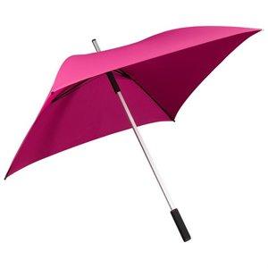 Vierkante paraplu roze