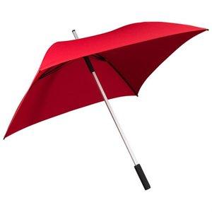 Vierkante paraplu rood