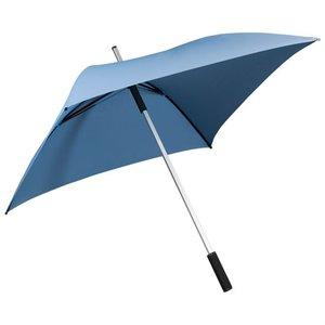 Vierkante paraplu lichtblauw