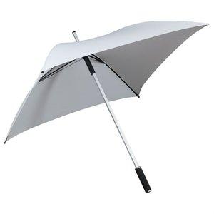 Vierkante paraplu wit