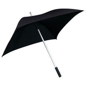 Vierkante paraplu zwart