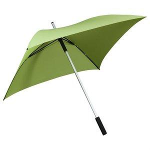 Vierkante paraplu groen