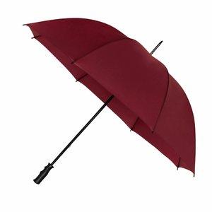 Golfparaplu windproof Impliva bordeaux rood