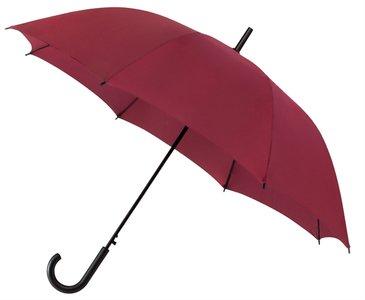 Falconetti paraplu automatisch haak bordeaux rood