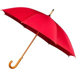 Falconetti luxe paraplu rood met haak