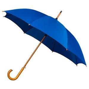 Falconetti luxe paraplu blauw met haak