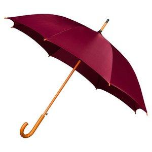 Falconetti luxe paraplu bordeaux rood met haak