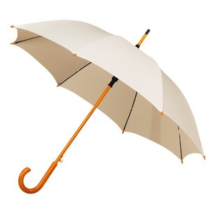 Falconetti luxe paraplu gebroken wit met haak