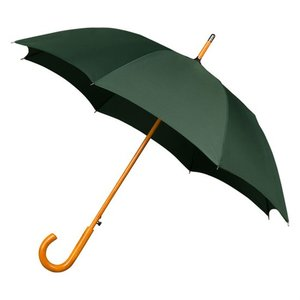 Falcone luxe windproof paraplu groen met haak