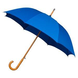 Falcone luxe windproof paraplu blauw met haak