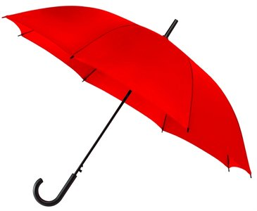 Falconetti automatische paraplu rood