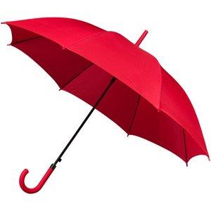 Damesparaplu automatisch rood