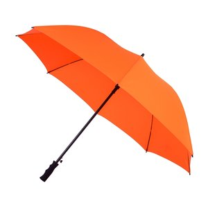 Falcone automatische windproof golfparaplu oranje GP-58-PMS021C voorkant
