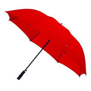 Falcone automatische windproof golfparaplu rood GP-58-8026 voorkant