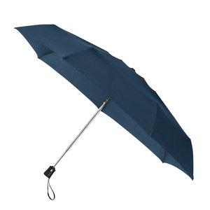 MiniMAX opvouwbare windproof paraplu die automatisch opent en sluit donkerblauw LGF-425-PMS 19-4026 TPX voorkant