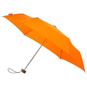 miniMAX platte vouwparaplu windproof paraplu - orange LGF-214-PMS021C voorkant open