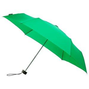 miniMAX platte vouwparaplu windproof paraplu seagreen LGF-214-PMS348C voorkant open