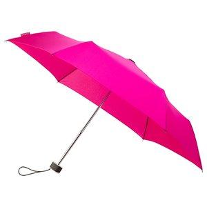 miniMAX platte vouwparaplu windproof paraplu magenta LGF-214-8017 voorkant open