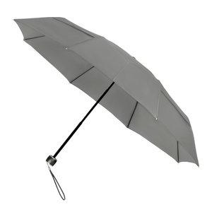 MiniMAX opvouwbare eco windproof paraplu cool grijs voorkant LGF-99-PMS COOL GRAY 9C
