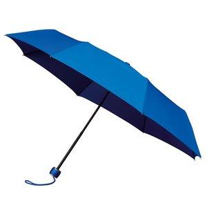 minimax opvouwbare paraplu windproof lichtblauw